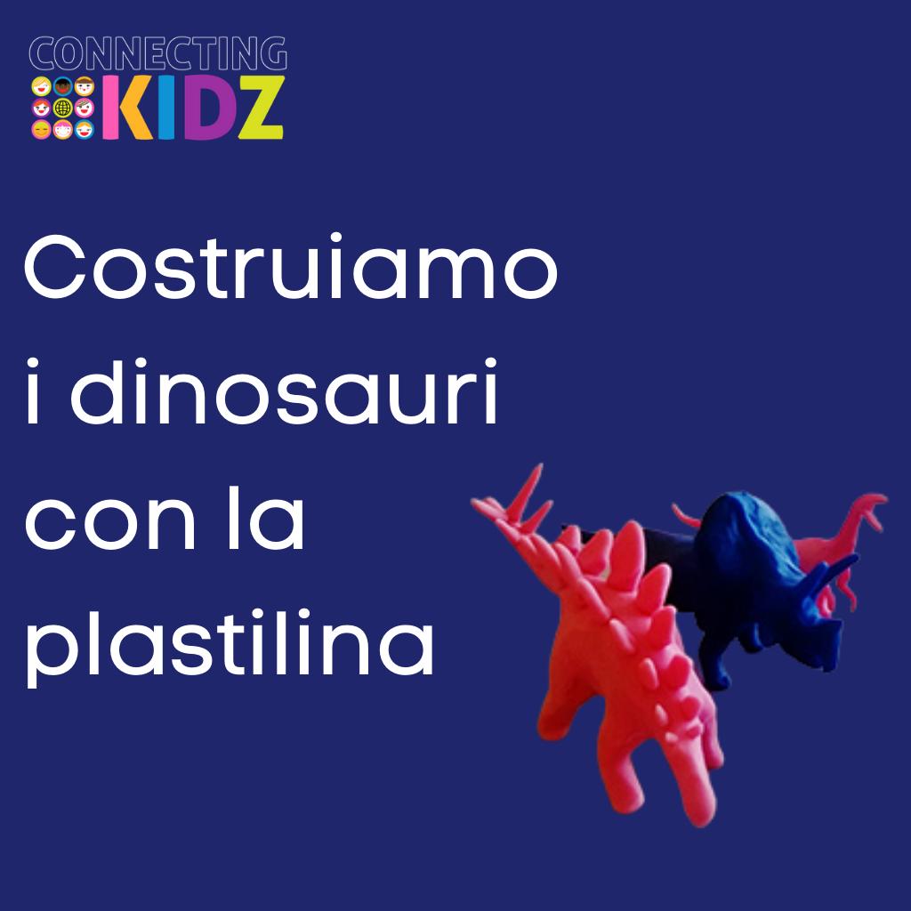 Costruiamo i dinosauri con la plastilina