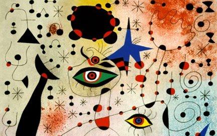 zoom pittorico su Joan Mirò