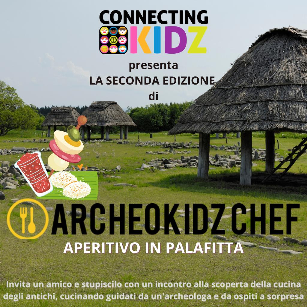 Percorso - ARCHEOKIDZ CHEF -  APERITIVO CON GLI ANTICHI - 7 incontri da sabato 26/6 alle 19