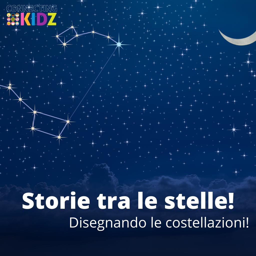 Storie tra le stelle! Mostri, eroi e principesse, disegnando le costellazioni